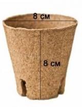 Jiffy kūdras pods 8cmx8cm